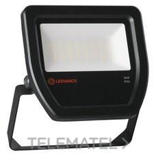 LEDVANCE 4058075251366 Proyector FLOOD LED 30W/3000K 100DEG IP65 negro