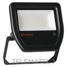 LEDVANCE 4058075251403 Proyector FLOOD LED 30W/6500K 100DEG IP65 negro