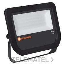 LEDVANCE 4058075097605 Proyector flood led 50W/4000K 5000lm negro 30000h