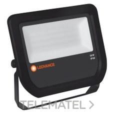 LEDVANCE 4058075097643 Proyector flood led 50W/6500K 5000lm negro 30000h