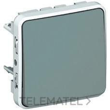 LEGRAND 069511 Conmutador E/S plexo 10AX gris