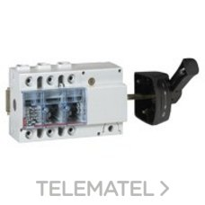 LEGRAND 022554 Interruptor seccionador 3P 160A mando lateral bomba 70mm2