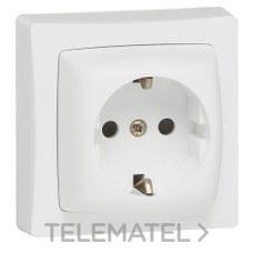 LEGRAND 086031 Mecanismo toma 2P + TT con obturador protección OTEO