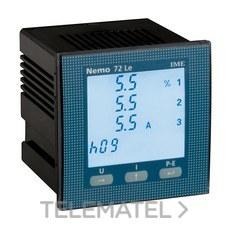 LEGRAND MF72411 Multímetro impulsos NEMO 72-LE 1-5A 500V