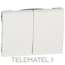 LEGRAND 777012 Tecla blanco para doble interruptor conmutador GALEA