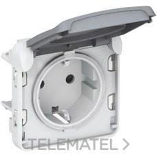 LEGRAND 069571 Toma 2P + TT E/S plexo gris