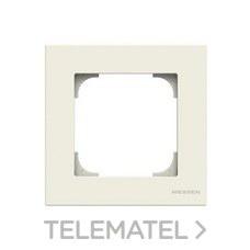 NIESSEN 8571 BL Marco de 1 elemento Sky Niessen blanco soft
