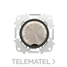 NIESSEN 8600 CN Tapa ciega Skymoon cristal negro