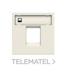 NIESSEN N2218.1 BL Tapa para 1 soporte Zenit blanco