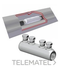NILED MET-95 Manguito empalme por tornillo MET-25-95mm²