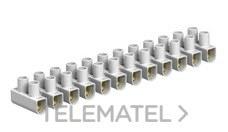 OBO-BETTERMANN 2056380 REGLETA 76/CE SECCIONADOR/SECCIONABLE 10mm2 POLIPROPILENO NEGRO