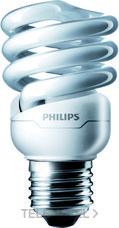 PHILIPS 11698100 Luminaria compacta integral tornado espiral 12W/827 E27