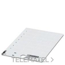 PHOENIX CONTACT 0830300 Rótulo de plástico US-EMLP (35X15)