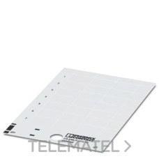 PHOENIX CONTACT 0830302 Rótulo de plástico US-EMLP (70X15)
