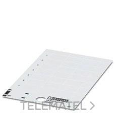 PHOENIX CONTACT 0828806 Rótulo de plástico US-EMLP (85,6X54)