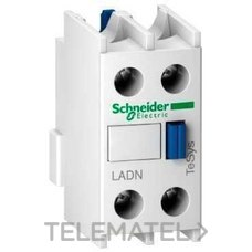SCHNEIDER ELEC LADN20 BLOQUE CONTACTO AUXILIAR 2 NA FRONTAL
