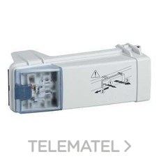 SCHNEIDER ELECTRIC KBC16DCF21 Conector 16A 2L-PE selector fase azul con fusible