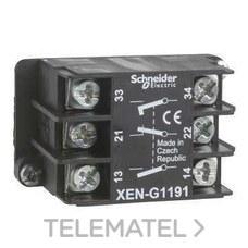 SCHNEIDER ELECTRIC XENG1191 Elemento simple impulsión con 2 posiciones CC+CA