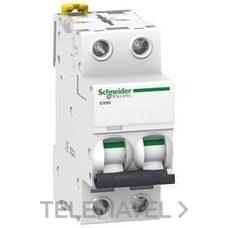 SCHNEIDER ELECTRIC A9F79210 Interruptor automático magnetotérmico iC60N 2P 10A curva-C