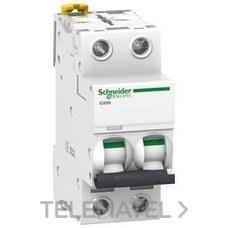 SCHNEIDER ELECTRIC A9F79216 Interruptor automático magnetotérmico iC60N 2P 16A curva-C