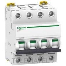 SCHNEIDER ELECTRIC A9F79425 Interruptor automático magnetotérmico iC60N 4P 25A curva-C