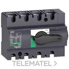 SCHNEIDER ELECTRIC 28913 Interruptor / seccionador COMPACT 160A 4P empotrable negro