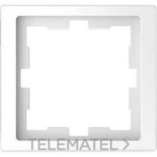 SCHNEIDER ELECTRIC MTN4010-6535 Marco de 1 elemento D-LIFE para montaje vertical y horizontal de color ártico