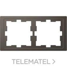 SCHNEIDER ELECTRIC MTN4020-6534 Marco de 2 elementos D-LIFE para montaje vertical y horizontal de color antracita