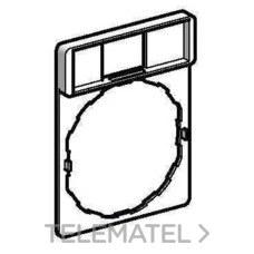 SCHNEIDER ELECTRIC ZBZ32 Portaetiquetas estándar 30x40 sin etiqueta