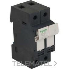SCHNEIDER ELECTRIC DF102 Portafusibles 2P 32A 10x38mm