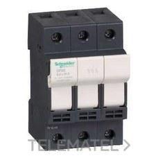 SCHNEIDER ELECTRIC DF83 Portafusibles 3P 25A 8,5x31,5mm