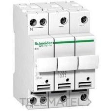 SCHNEIDER ELECTRIC A9N15658 Portafusibles seccionador STI 3P+N 500V