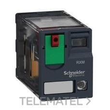 SCHNEIDER ELECTRIC RXM2AB2B7 Relé miniatura 12A 2 NA/NF con LED 24V CA