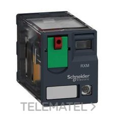 SCHNEIDER ELECTRIC RXM4AB2B7 Relé miniatura 6A 4 NA/NF con LED 24V CA