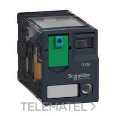 SCHNEIDER ELECTRIC RXM4AB2BD Relé miniatura + LED 6A 4 NA/NC 24V DC