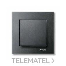 SCHNEIDER ELECTRIC MTN433114 Tecla simple ELEGANCE antracita