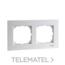 SCHNEIDER ELECTRIC MTN4020-3035 Marco 2 elementos ELEGANCE blanco activo
