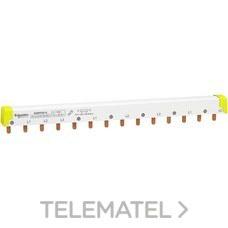 SCHNEIDER ELECTRIC A9XPH814 Peine iID 4P cabecera + 2P 14 módulos