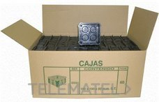 SEAVI 23321 CAJA DERIVACION CUADRADO 100x100x50 CON GARRAS