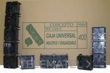 SEAVI 23001 CAJA DERIVACION EMPOTRAR MECANISMO 64x64x44
