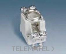 SIMON 12011-61 Base portafusible D02 63A 1P conexión para abrazadera