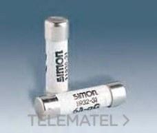 SIMON 11929-31 Fusible cilindrico 380V 2A sin indicador (8,5x31,5)