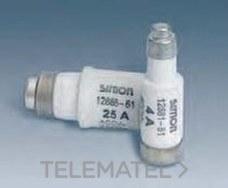 SIMON 12881-61 Fusible D01 4A 1,3W para base 16A
