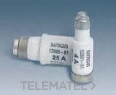 SIMON 12889-61 Fusible D02 63A 4,0W para base 63A