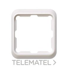 SIMON 75610-30 Marco Simon 75 con 1 elemento blanco nieve