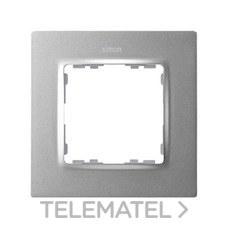 SIMON 8200617-093 Marco Simon 82 con 1 elemento aluminio