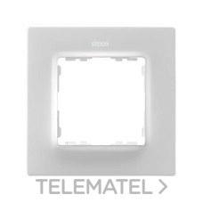 SIMON 8200617-090 Marco Simon 82 con 1 elemento blanco mate