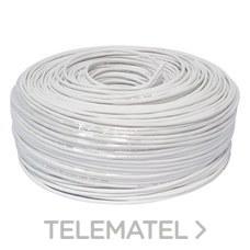 TELEVES 217001 Cable telefonía básica LSFH 4mm blanco