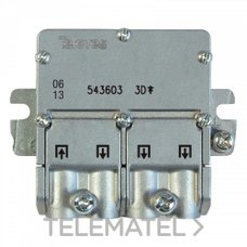 TELEVES 543603 Mini repartidor 5 2400MHz Easyf 3D 8,5/7,5dB