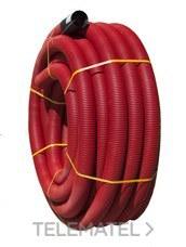 TUPERSA 121100050 Tubo canalización ULTRA-TP I normal diámetro 50 rojo (En Rollo)